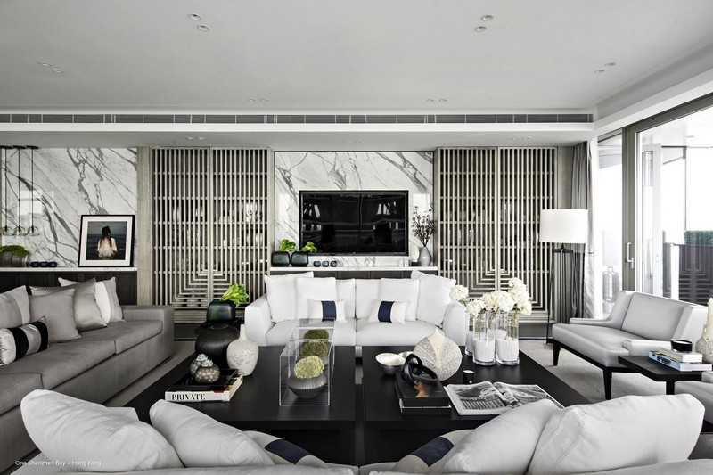 Top 10 best interior design projects by kelly hoppen for Top 10 interior designers
