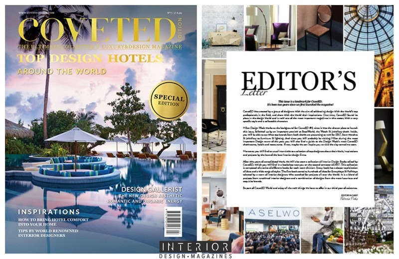 CovetED Magazine 7ht Edition Is All About Worlds Best Design Hotels Discover The Seasons Newest