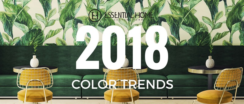 Awesome 2018 Color Trends: Green Home Decor Ideas With A Mid Century Touch ➤Discover