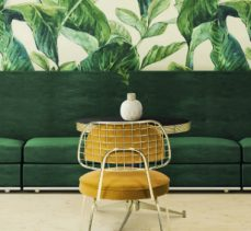 2018 Color Trends: Green Home Decor Ideas with a Mid-Century Touch ➤Discover the season's newest designs and inspirations. Visit Best Interior Designers at www.bestinteriordesigners.eu #bestinteriordesigners #topinteriordesigners #bestdesignprojects #interiordesignideas @BestID