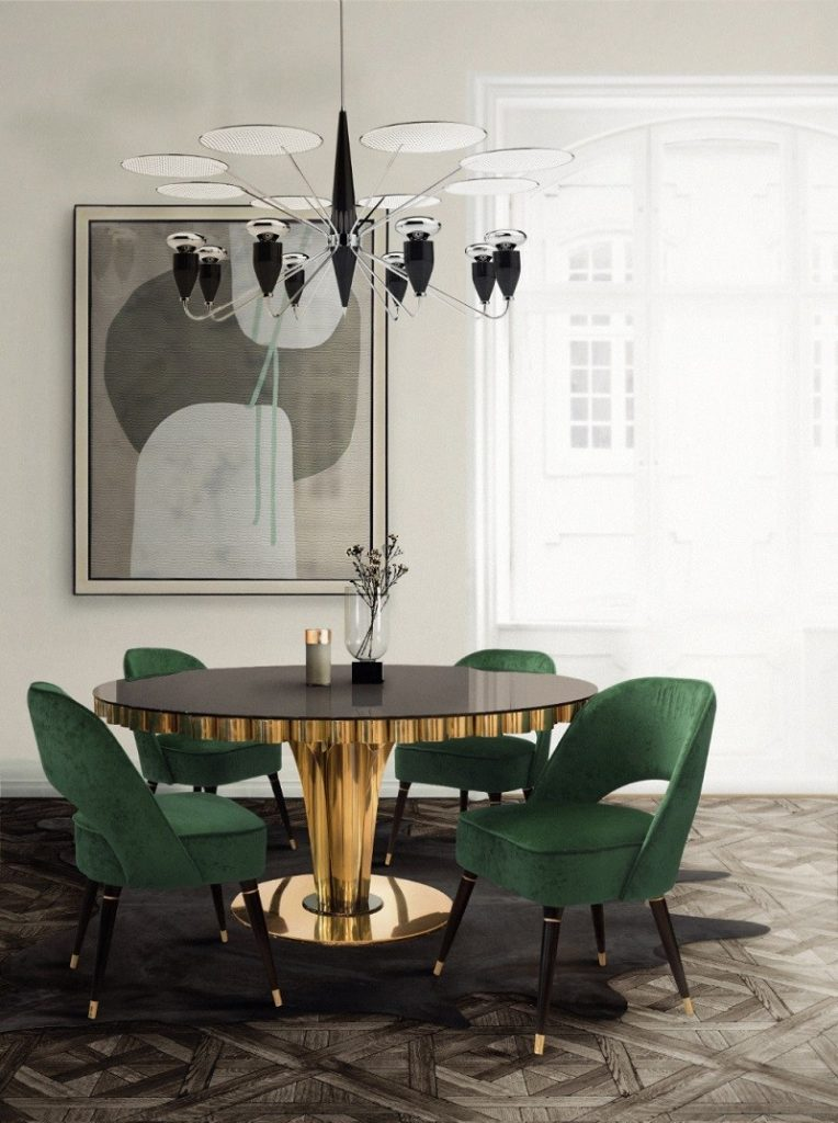 2018 Color Trends Green Home Decor Ideas With A Mid Century