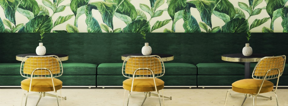 2018 Color Trends: Green Home Decor Ideas with a Mid-Century Touch