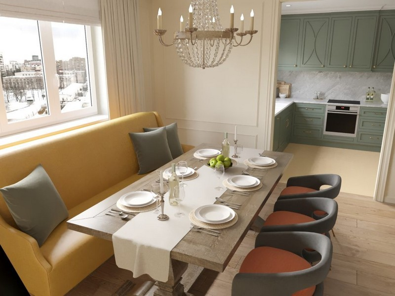 Amazing Dining Room Design Project by Nadya Zotova – Best Interior ...