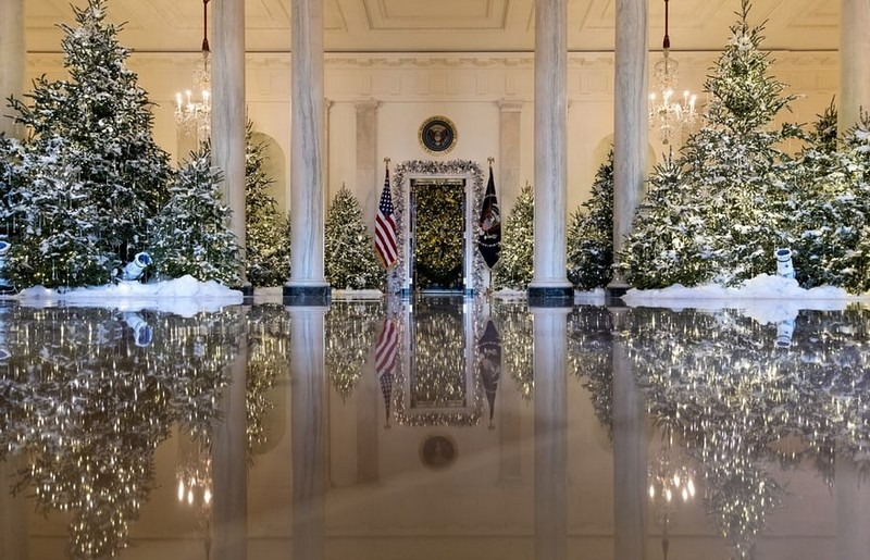 2017 White House Christmas Decorations in Pictures white house christmas decorations Try Out a 360 Holiday Tour at the White House Christmas Decorations Melania Trump Reveals White House Christmas Decorations for This Year Best Interior Designers Christmas 2017 White House Christmas Tours 2017 1