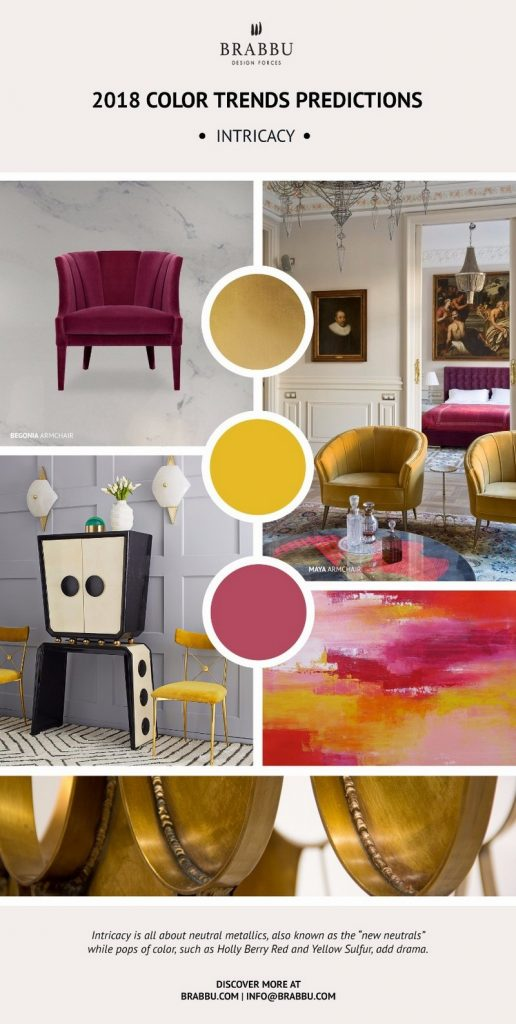 Get Inspired By Pantone 2018 Color Trends And Awesome Mood
