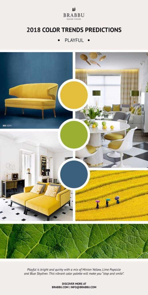Get Inspired By Pantone 2018 Color Trends And Awesome Mood Boards   Best Interior  Designers