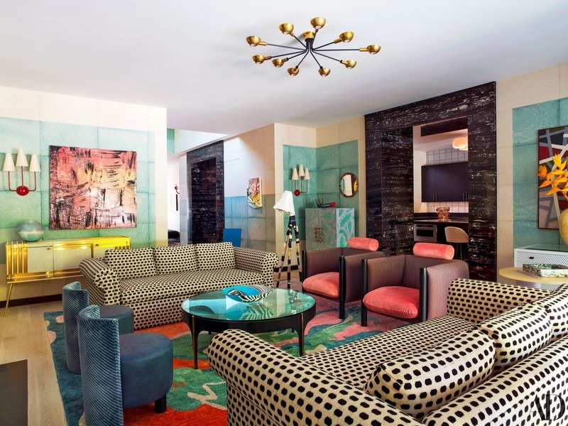 An Amazing And Colorful Design Project By Kelly Wearstler