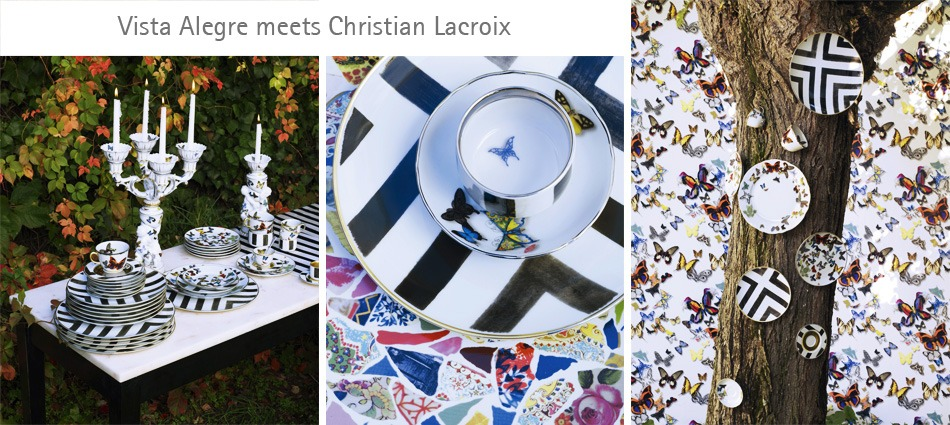 Christian Lacroix & Vista Alegre Joined Forces in a Sublime Collection - Best Interior Designers - Top Interior Designers - World's Best Interior Designers - Discover the season's newest designs and inspirations. Visit Best Interior Designers! #bestinteriordesigners #ChristianLacroix #TopInteriorDesigners @BestID