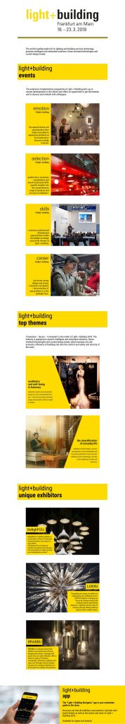 light + building The Best Lighting Design Events: Light + Building Light Building One of The Top Design Events of March
