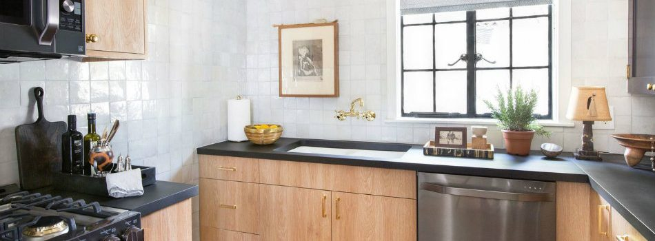 The Vintage Design of Nate Berkus's Showroom Kitchen