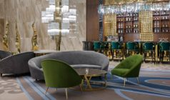 The Elegant Décor of The Hilton Astana Hotel