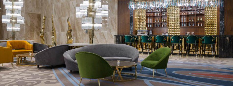 The Elegant Décor of The Hilton Astana Hotel
