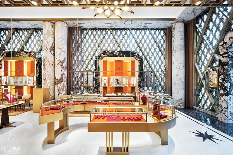 Peter Marino's Stunning Renovation of Bulgari's Store in New York peter marino Peter Marino's Stunning Renovation of Bulgari's Store in New York Peter Marino Renovates Bulgari New York 10