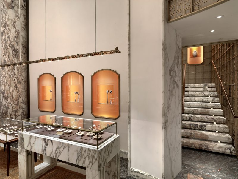 Peter Marino's Stunning Renovation of Bulgari's Store in New York peter marino Peter Marino's Stunning Renovation of Bulgari's Store in New York Peter Marino Renovates Bulgari New York 2