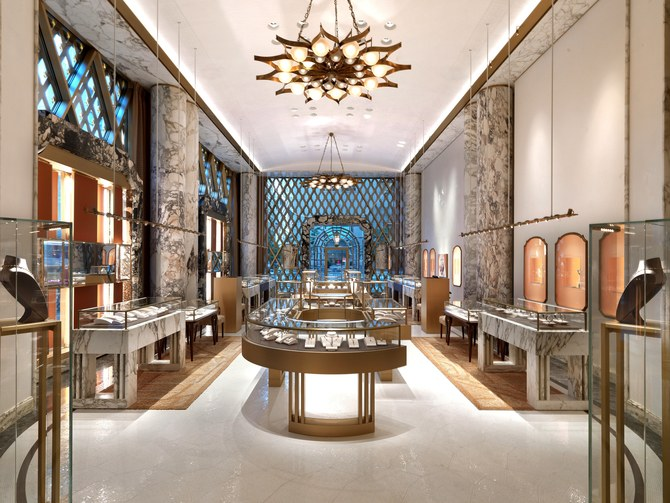Peter Marino's Stunning Renovation of Bulgari's Store in New York peter marino Peter Marino's Stunning Renovation of Bulgari's Store in New York Peter Marino Renovates Bulgari New York 3