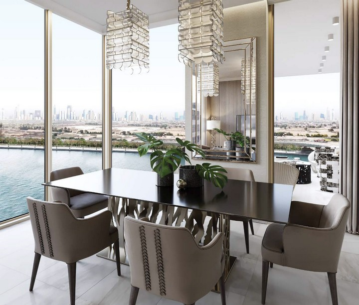 A New Tower in Dubai Perfectly Fitted by Cavalli Home cavalli home A New Tower in Dubai Perfectly Fitted by Cavalli Home I Love Florence Towers to Feature Interior Design by Roberto Cavalli 1
