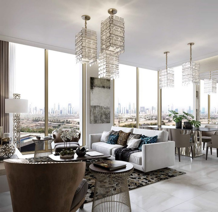 A New Tower in Dubai Perfectly Fitted by Cavalli Home cavalli home A New Tower in Dubai Perfectly Fitted by Cavalli Home I Love Florence Towers to Feature Interior Design by Roberto Cavalli 2