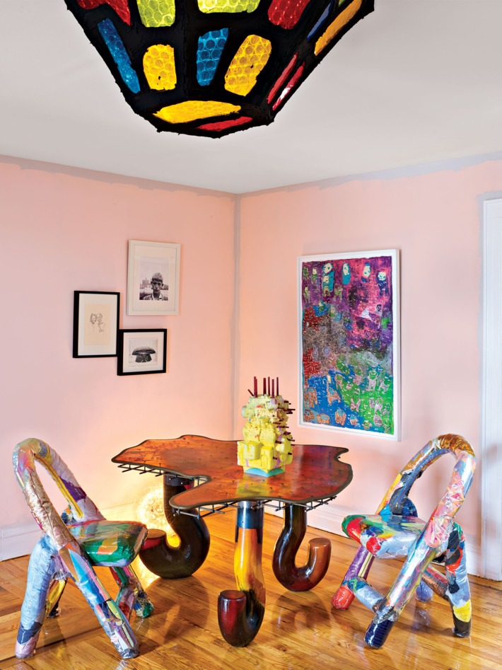 The Home Project of Artist Misha Kahn misha kahn The Home Project of Artist Misha Kahn A colorful design project by Misha Kahn I Lobo you 3