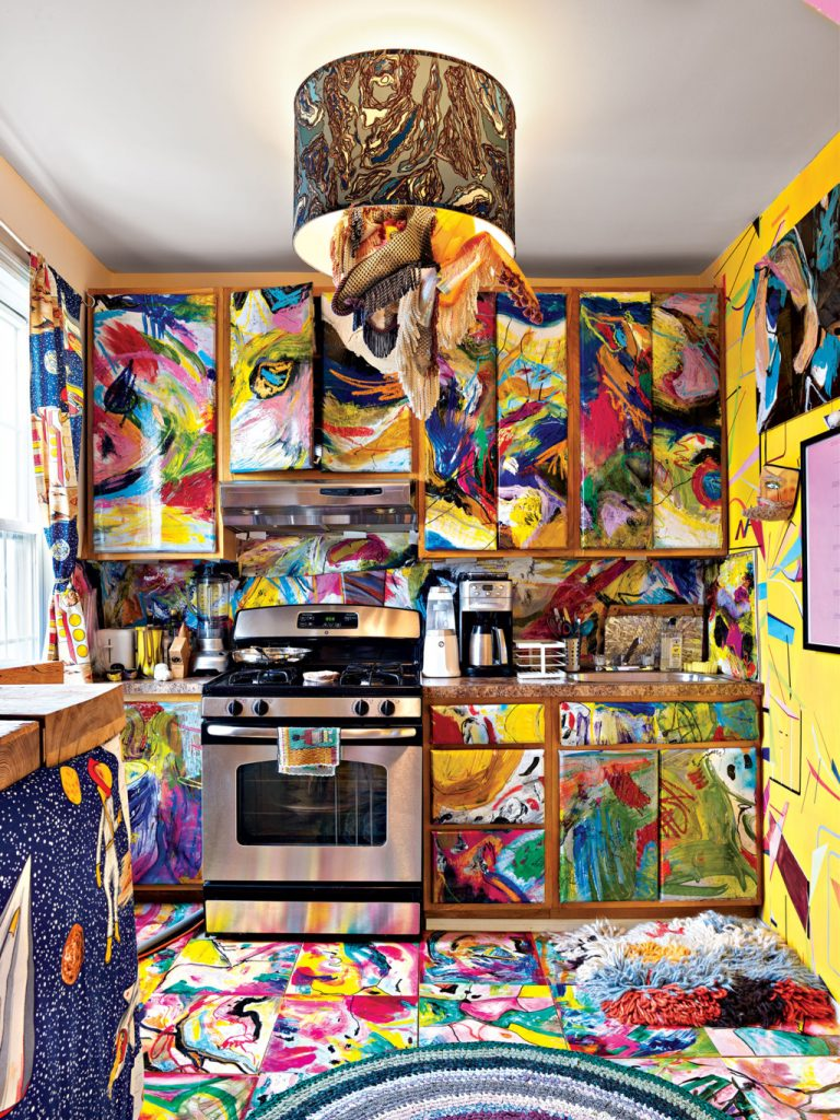 Misha Kahn misha kahn The Home Project of Artist Misha Kahn A colorful design project by Misha Kahn I Lobo you 5