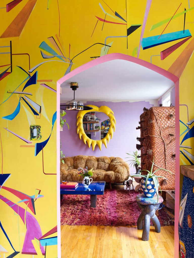 The Home Project of Artist Misha Kahn misha kahn The Home Project of Artist Misha Kahn A colorful design project by Misha Kahn I Lobo you 9