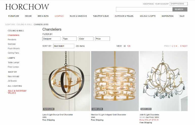 Looking For Great Light Pieces? Check Out These Online Stores! light pieces Looking For Great Light Pieces? Check Out These Online Stores! horchow