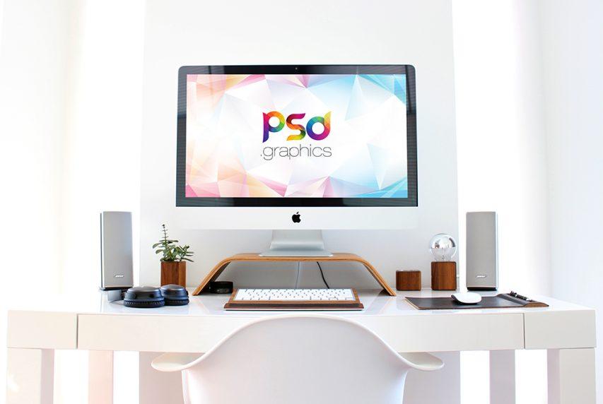 The Ultimate Design Shopping List For Christmas!  ultimate design The Ultimate Design Shopping List For Christmas! Apple iMac on Desk Mockup 1