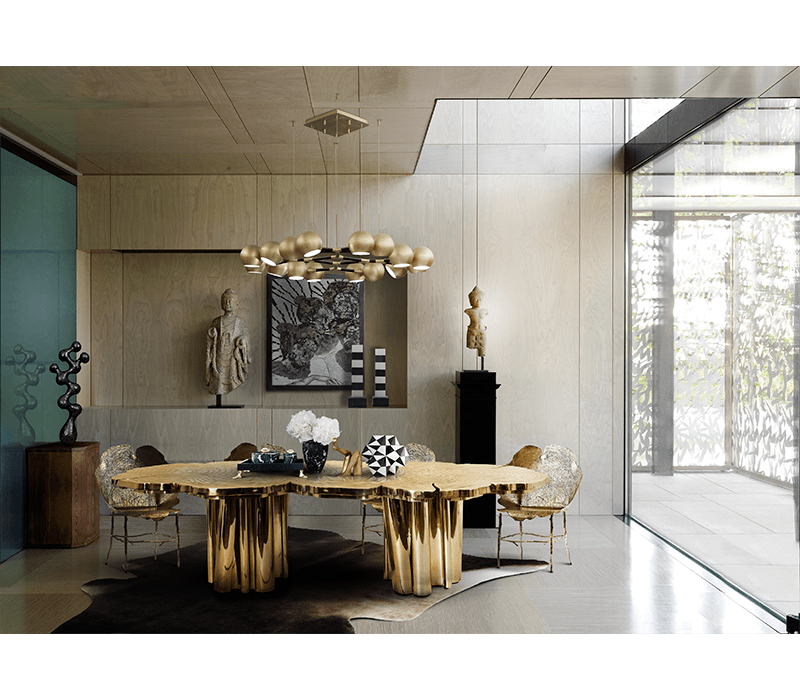 joel escalona Modern Meets Craftsmanship With Joel Escalona fortuna dining table 04 boca do lobo