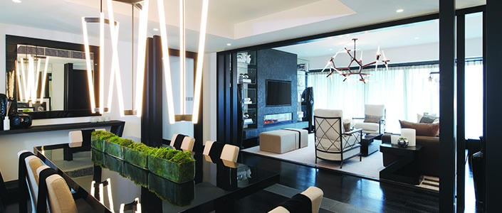 KELLY HOPPEN: LUXURY LOFT IN HONG KONG KELLY HOPPEN LUXURY LOFT