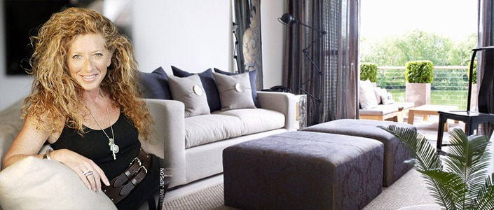 kelly hoppen LEADING INTERIOR DESIGNER: KELLY HOPPEN British