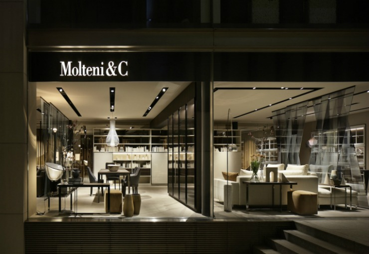 milan design week The Ultimate Design Guide For ISaloni & Milan Design Week 2019 best interior designers Patricia Urquiola designs Molteni new tokyo flagship store 71