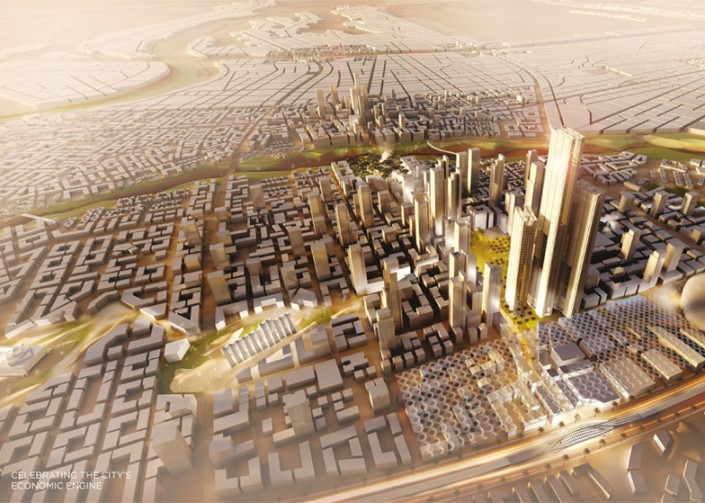 SOM - Capital Cairo Project  SOM – Capital Cairo Project Cairo by SOM dezeen 784 11 e1432131280115