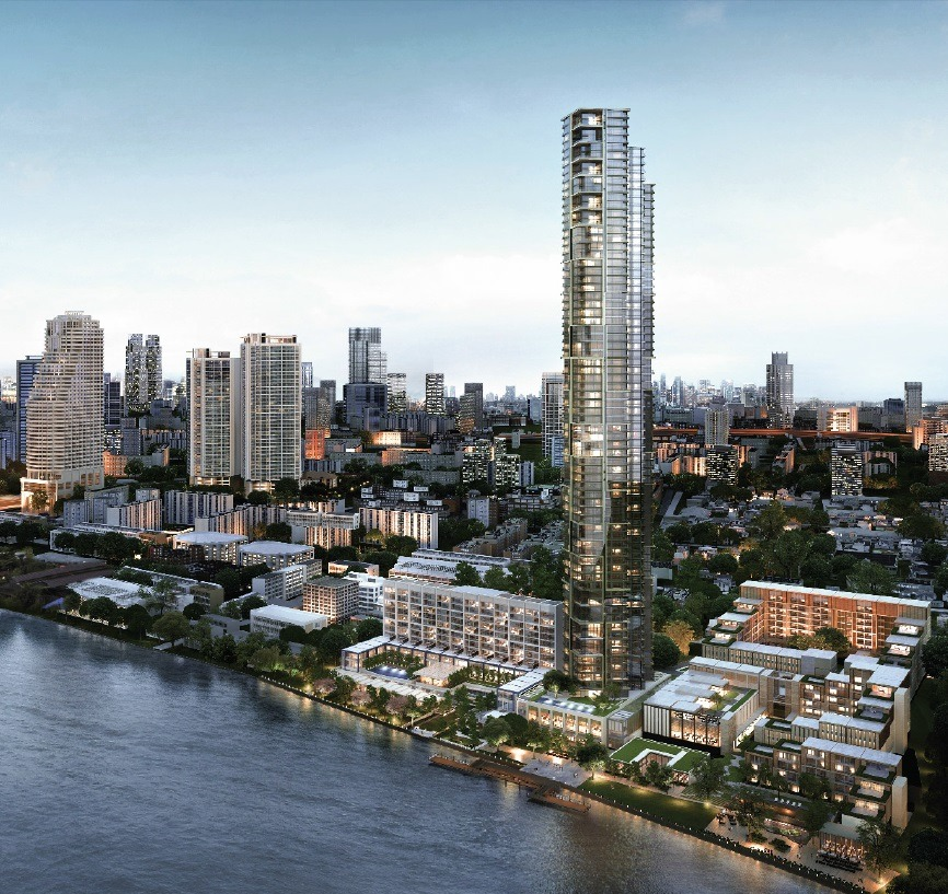 BAMO - The New Four Seasons Chao Phraya Estate  BAMO – The New Four Seasons Chao Phraya Estate Chao Phraya River