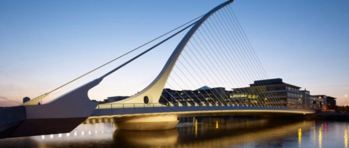 Interior Designers 100 Top Interior Designers From A to Z – Part 4 Samuel Beckett Bridge santiago calatrava e1439370781440 705x300