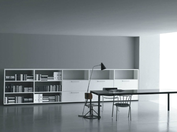 Interview With Piero Lissoni, One of The Top Names of Italian Design piero lissoni Interview With Piero Lissoni, One of The Top Names of Italian Design contemporary bookcase wood offices piero lissoni 49622 5728771