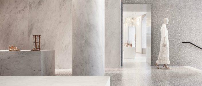 bestinteriordesigners-Top Interior Designers | David Chipperfield-rome-valentino- interior designers 100 Top Interior Designers From A to Z – Part 2 rome valentino flagship store santi caleca web1 705x300