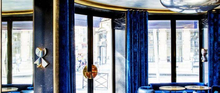 Café Français, Paris interior designers 100 Top Interior Designers From A to Z – Part 2 27 India Mahdavi Caf   Fran  ais Paris 705x300