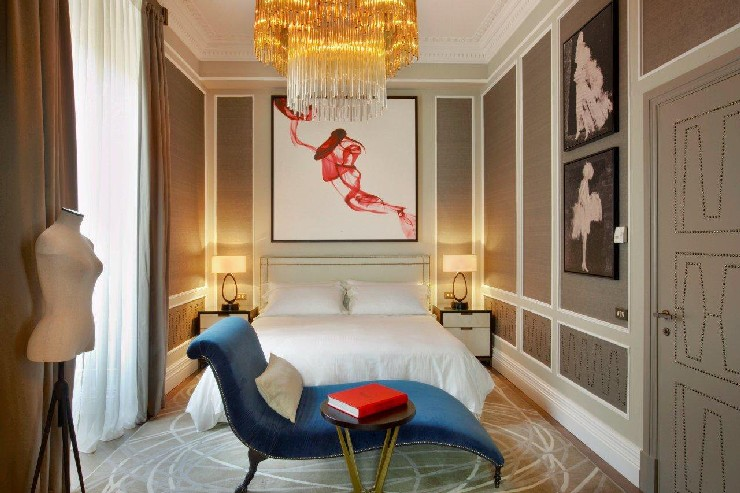 Ambassador Suite at The St. Regis Rome, designed by HBA Hirsch Bedner Associates interior designers 100 Top Interior Designers From A to Z – Part 2 23 Ambassador Suite at The St