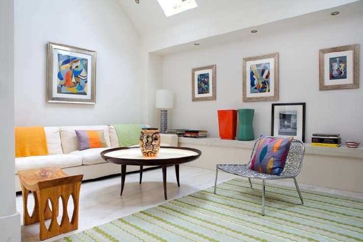 Ruston Mews, London residence Lounge by Martin Brudnizki Design Studio interior designers 100 Top Interior Designers From A to Z – Part 3 26 Ruston Mews London residence Lounge by Martin Brudnizki Design Studio1