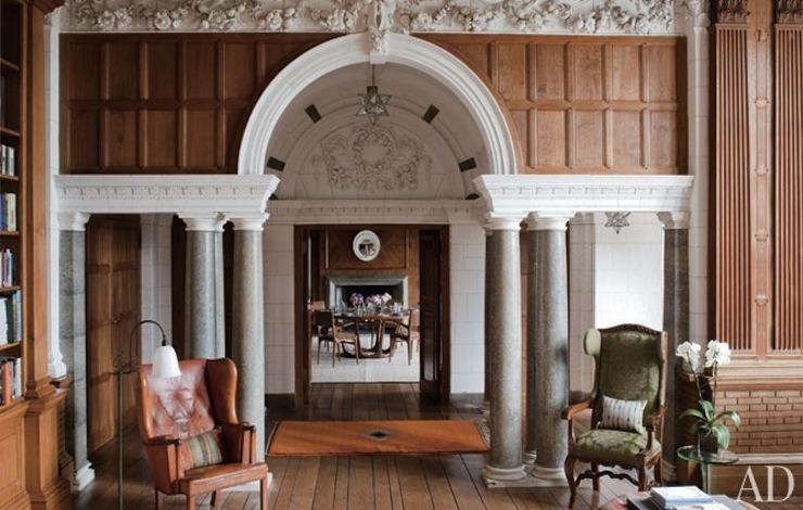 Lutyens marshcourt interior design by robert couturier - Robert couturier interior design ...