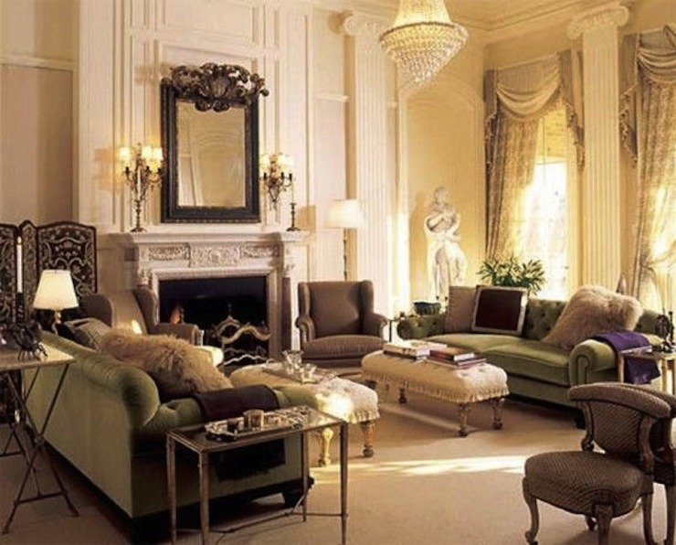 Luxury and Classic Victorian Interior Design Ideas by Robert ...