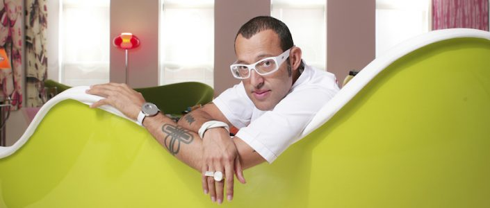 Karim Rashid - The contemporary designer ➤ Discover the season's newest designs and inspirations. Visit us at www.bestinteriordesignerprojects.eu #bestinteriordesigners #topinteriorprojects #bestdesignprojects @BestID