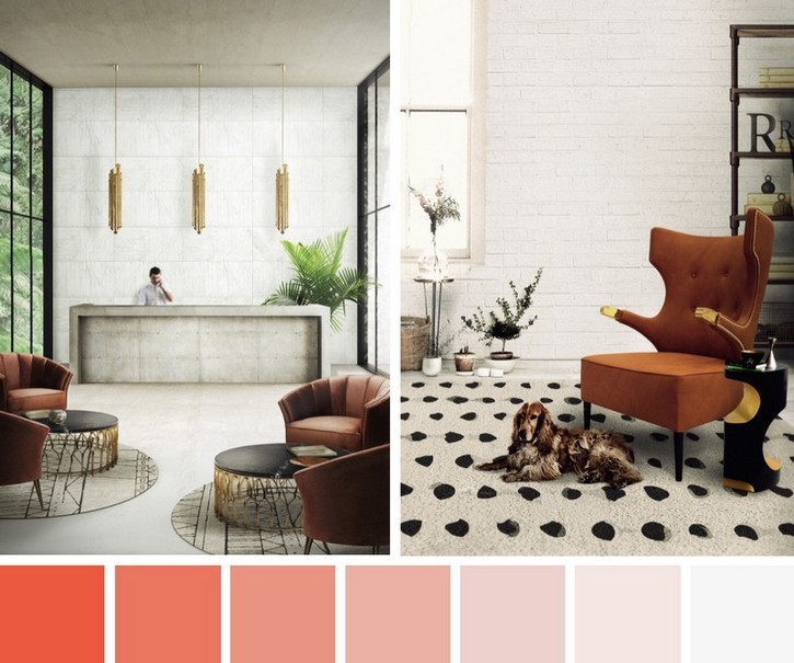 Flame Is The Lively Colour For Any Interior Inspiring Color Scheme Design