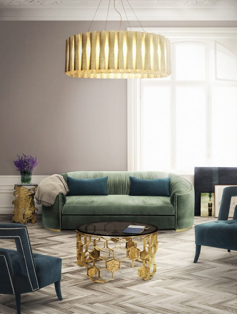 10 Best Golden Interior Design Ideas By