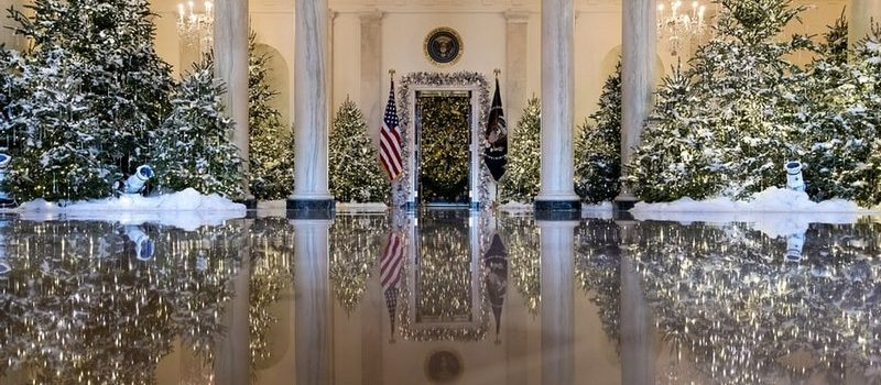 2017 White House Christmas Decorations in Pictures 2017 white house christmas decorations 2017 White House Christmas Decorations in Pictures Melania Trump Reveals White House Christmas Decorations for This Year Best Interior Designers Christmas 2017 White House Christmas Tours 2017 1 800x350