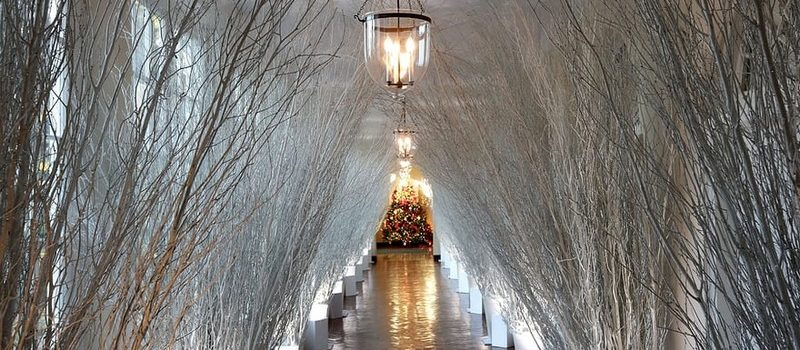 2017 White House Christmas Decorations in Pictures white house christmas decorations Try Out a 360 Holiday Tour at the White House Christmas Decorations Melania Trump Reveals White House Christmas Decorations for This Year Best Interior Designers Christmas 2017 White House Christmas Tours 2017 4 800x350