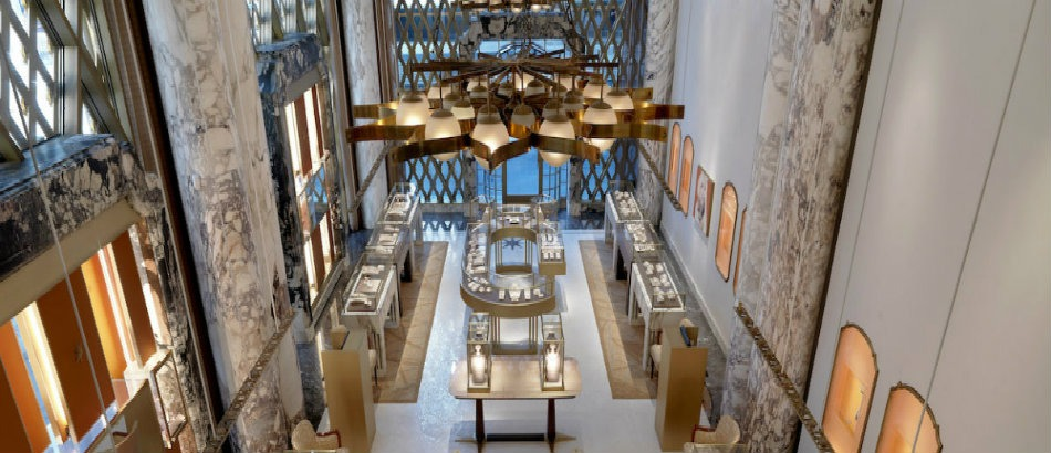 Peter Marino's Stunning Renovation of Bulgari's Store in New York peter marino Peter Marino's Stunning Renovation of Bulgari's Store in New York Peter Marino Renovates Bulgari New York 1