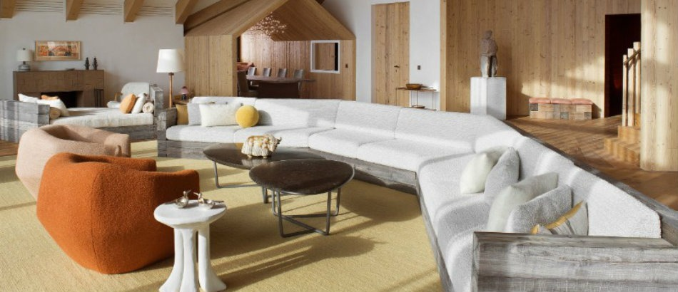 pierre yovanovitch The Tradicional & Modern Swiss Chalet by Pierre Yovanovitch Avant Garde meets the Rustic in Pierre Yovanovitch   s Chalet 2 1