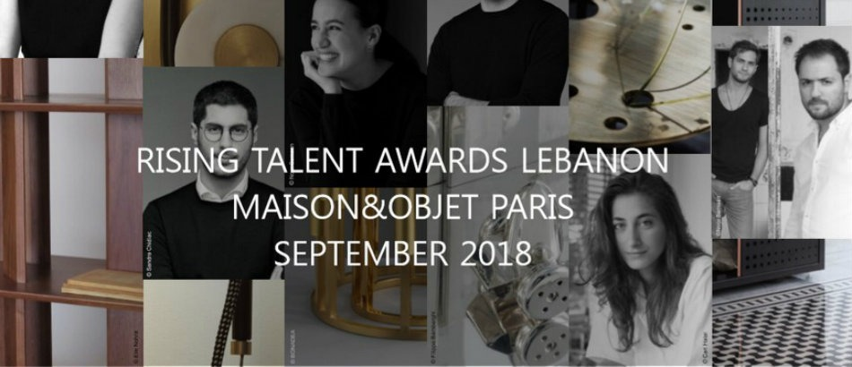 Meet the New Rising Talents of Maison et Objet 2018 Maison et Objet Meet the New Rising Talents of Maison et Objet 2018 Lebanon
