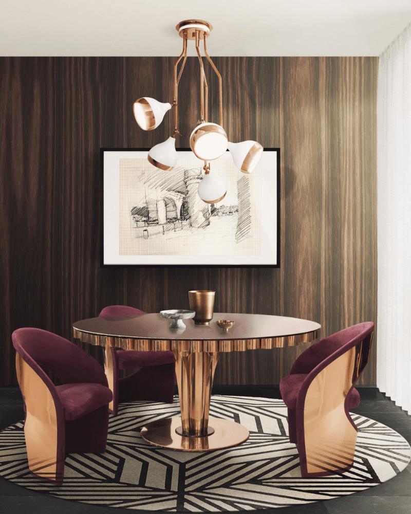 Top and Modern Inspirations For Your Dinning Room dining room Amazing Dining Room Designs by Superstar Interior Designers – Part 2 Masterpost Alert  Dining Room Ideas F2F a Fabulous 2019 5