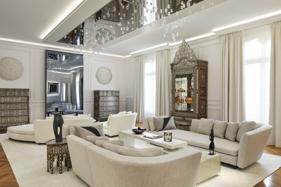 stéphanie coutas An Exquisite Parisian Apartment by Stéphanie Coutas An Exquisite Parisian Apartment by St  phanie Coutas 1